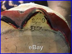 Antique Majolica Black Americana Tobacco Jar Humidor Johann Maresch Rarest Piece