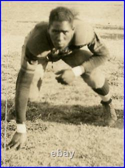 Antique Old Negro League Baseball Robert Bissant Autograph Photo Memphis Tn