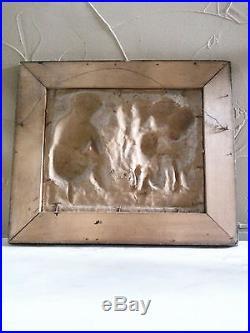 Antique Papier-Mache The Ghost Story Black Memorabilia
