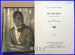 Antique PhotoAfrican American Tenor Roland Hayes + Negro Convict Sheet Music