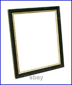 Antique Ripple Frame, with Lemon Gold Fillet, 28 X 32 3/4
