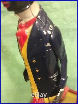 Antique Toy Lehmann Alabama Coon Jigger Wind Up Black Americana