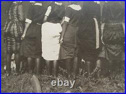 Antique Vintage African American Flapper Girls Parisian Nights Poster Fun Photos