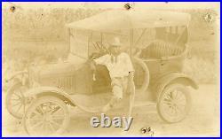 Antique Vintage Numismatic African American Cash Dollar Money Rppc Photo