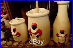 Antique Vtg Black Americana Aunt Jamima Door Stop Salt Pepper Cookie Jar 135 pcs