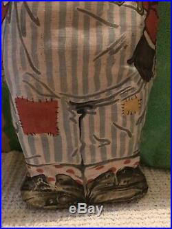 Antique african american Cloth Advertising Doll
