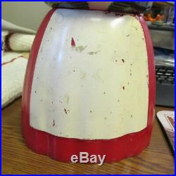 Aunt Jemima BLACK AMERICANA Cookie Jar F&F Mold & Die Works Dayton, OHIO OH O