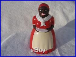 Aunt Jemima Brown Face Vintage Cookie Jar F&F Mold & Die Works NICE! LOOK