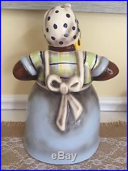 Aunt Jemima Ceramic Cookie Jar Wolfe Studio