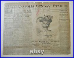 Authentic Black Americana 1906 Lynching Newspaper Not For The Faint Of Heart