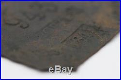Authentic Copper Slave Tag Charleston 1841 Porter #943 Jekyll Island, GA