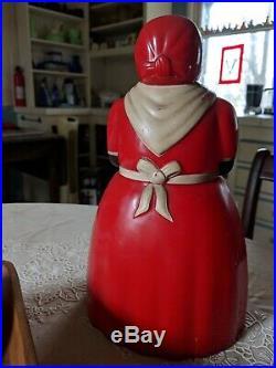 BLACK AMERICANA Aunt Jemima Vintage Cookie Jar F&F Mold & Die Works