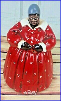 BLACK AMERICANA MAMMY/AUNT JEMIMA COOKIE JAR/CANISTER Memories of Mama
