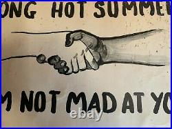 BLACK HiSTORY 1967 NEWARK NJ RIOTS LONG HOT SUMMER ORIGINAL POSTER