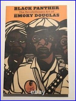 BLACK PANTHER The Revolutionary Art of EMORY DOUGLAS signed Bobby Seale/Emory