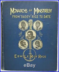 BLACKFACE MINSTREL SHOW Civil War VIRGINIA DEMOCRAT Uncle Tom's Cabin US SLAVERY