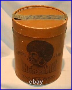 Bigger Hair SmokingTobacco, Black Americana, B. Leidersdorf Milwaukee Wi