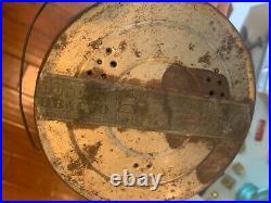 Bigger Hair Tobacco Tin Vintage Black Americana Rare