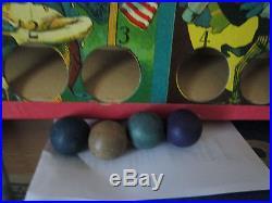Black America 1920 Milton Bradley # 4682 Twin Target Game