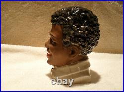 Black Americana 1920's Austrian Figural Tobacco Jar