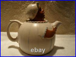 Black Americana 1938 Original Weller Teapot
