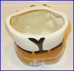Black Americana Alfano Art Pottery Jazz Player Cookie Jar