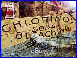 Black Americana Babies Boat Chlorinol Soda Bleaching Racist Ad Heavy Metal Sign
