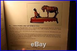 Black Americana Cast Iron Spise A Mule Mechanical Bank J & E Stevens c 1897