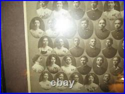 Black Americana Class of 1909 Photograph Hampton Institute Virginia