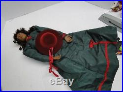 Black Americana Daddy's Long Legs Lydia In Green Salesman Sample