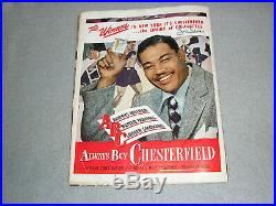 Black Americana Ebony Magazine 1947 Women Fashion Swim Suits Civil Rights Book