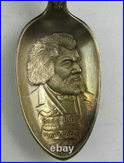Black Americana Frederick Douglass Souvenir Spoon