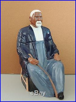 Black Americana Grandpa Washington Cookie Jar