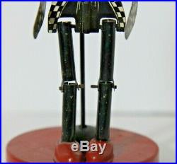 Black Americana Jigger Dancing Man in Tuxedo Tin Toy 1930 Made in U. S. A