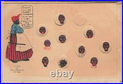 Black Americana Mechanical Puzzle Pick Pickaninnies No White Trash