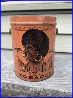 Black Americana Milwaukee Wi Tobacco Can B Leidersdorf