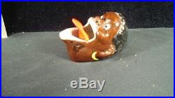 Black Americana Nodder Ashtray