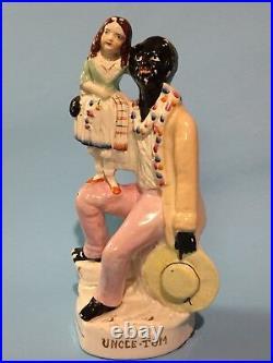 Black Americana Uncle Tom & Eva circa 1880