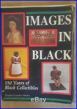 Black Americana Very Rare Antique Papier-Mache The Ghost Story