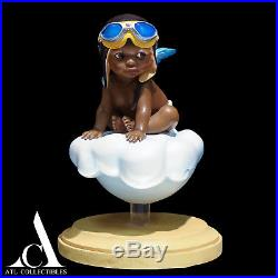 Black Angel Thomas Blackshear Little Pilot Adorable Boy Limited Ed Signed Number