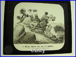 Black Memorabilia Magic Lantern Slides By C. T. Milligan Philly Pa