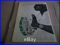 Black Panther Newspaper Africa issue Oct. 4, 1971 VG+