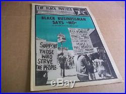 Black Panther Newspaper Aug. 9, 1971 VG+