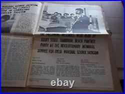 Black Panther Newspaper George Jackson Sept. 4, 1971 VG+