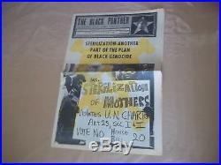 Black Panther Newspaper Huey Newton May 8, 1971 VG+
