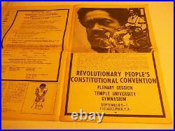 Black Panther Newspaper Huey P Newton August 21, 1970 VG+