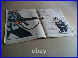Black Panther Newspaper Jan. 10, 1970 Bobby Seale, Huey Newton VG+