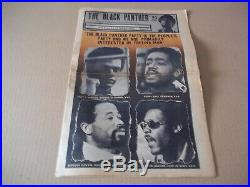 Black Panther Newspaper May 2, 1970 + 16 page So. Cal supplement VG+