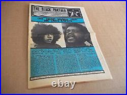 Black Panther Newspaper May 29, 1971 Ericka Huggins and Bobby Seale VG+