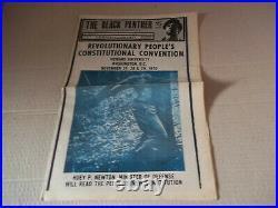 Black Panther Newspaper Nov. 28, 1970 Huey Newton VG+